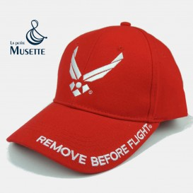 USAF Red Baseball cap