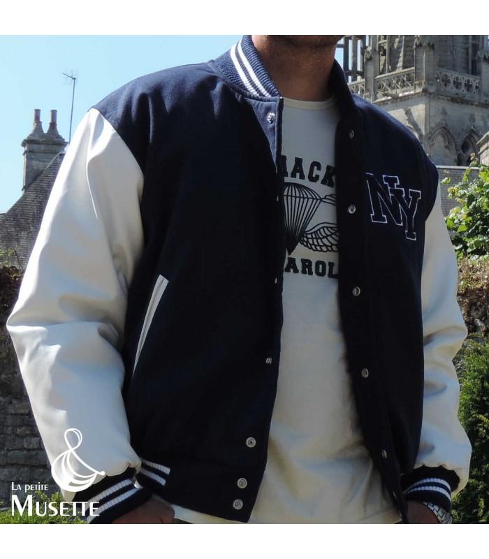 Jacket Us Football Baseball New Blouson Veste Sport Teddy York Usa Ny awXA75qnU