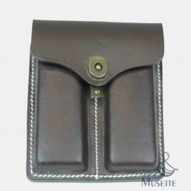 Leather Colt ammo pouch