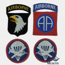 Airborne Patchs Set