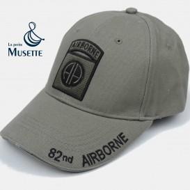 Grey 82 Baseball Cap