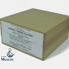 Carton Plasma / Eau distillée