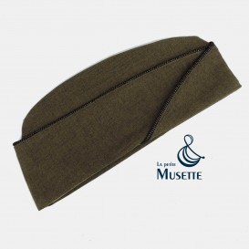 Chocolate Officers garrison cap