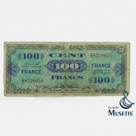 Billet d'invasion 100 Francs