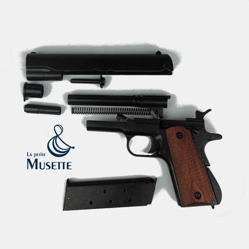 Colt 1911 A1  45 ACP PISTOLET REVOLVER DENIX US ARMY SERGEANT OFFICER