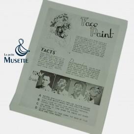 Face Paint Paper