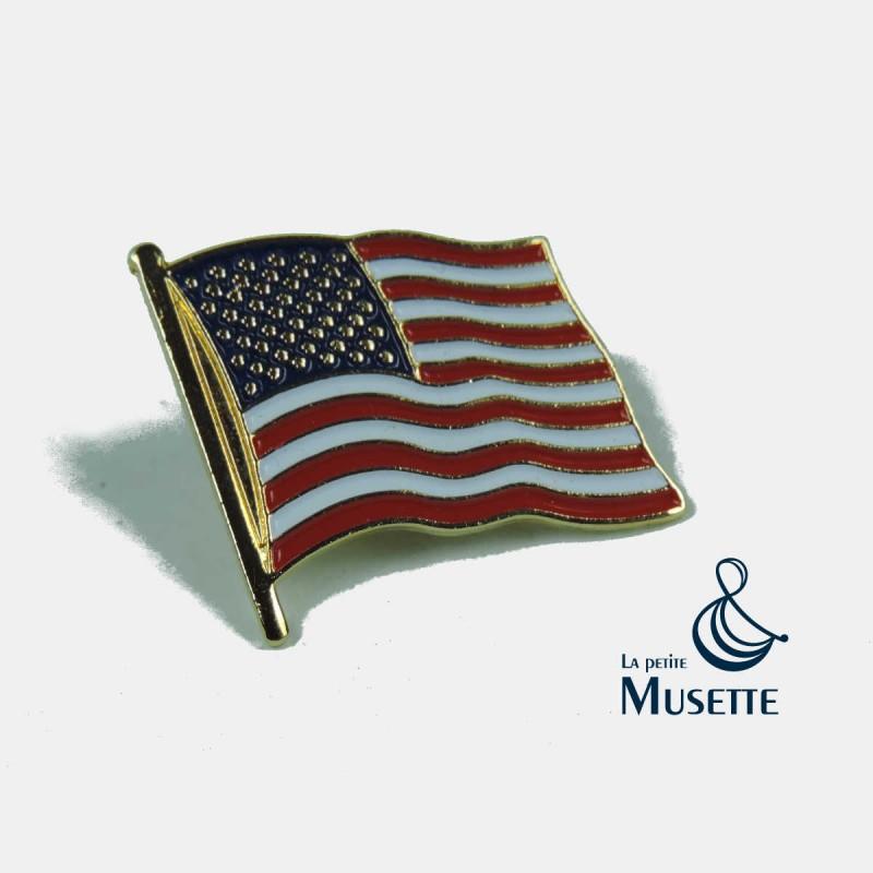 Pin/'s pin pins  drapeau flag USA Etats-Unis Américain