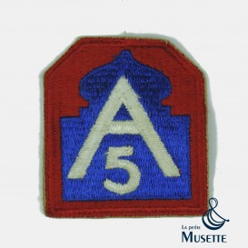 5th US Army Patch
