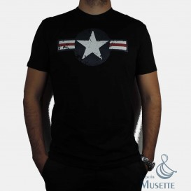 USAAF T-shirt - Black