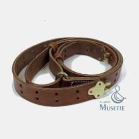 M1 Garand Rifle's leather sling, Luxury version